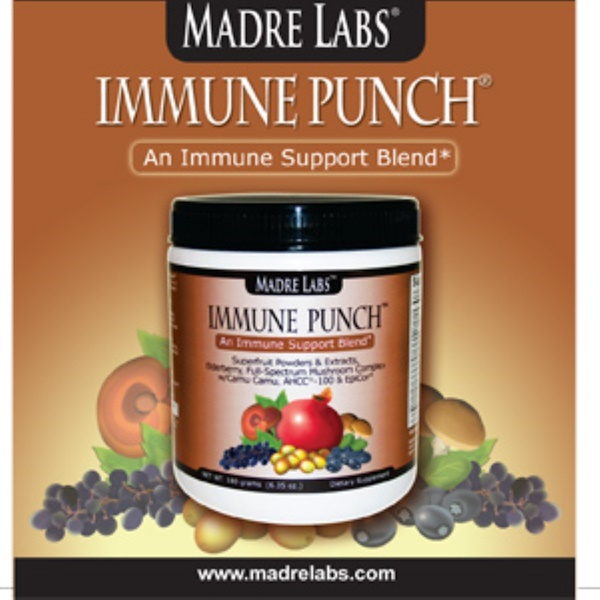 Madre Labs, Immune Punch Flyer Plus Sample! 1 Packet, 4 g (0.14 oz) (Discontinued Item)