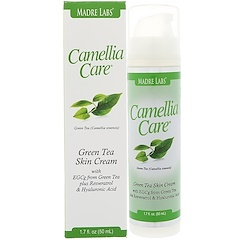 Madre Labs, Camellia Care, Green Tea Skin Cream, 1.7 fl oz (50 ml)