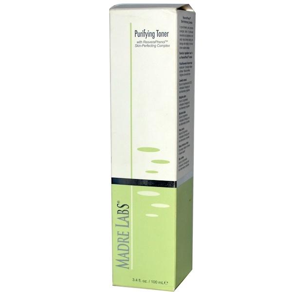 Madre Labs, ピュアリファイング・トナー、3.4 fl oz (100 ml) (Discontinued Item)