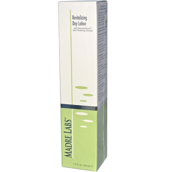 Madre Labs, Revitalizing Day Lotion, 1.7 fl oz (50 ml) (Discontinued Item)