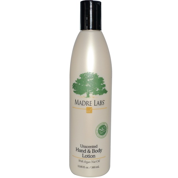 Madre Labs, Hand & Body Lotion, Unscented, 12.85 fl oz (380 ml) (Discontinued Item)