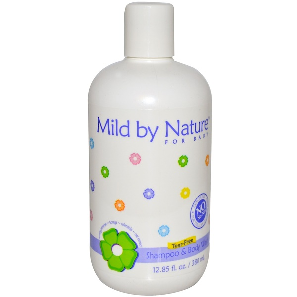 Madre Labs, Mild by Nature for Baby, Tear-Free Shampoo & Body Wash, 12.85 fl oz (380 ml) (Discontinued Item)
