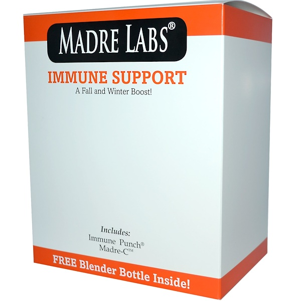 Madre Labs, Immune Support with Blender Bottle, 6.35 oz (180 g) Each (Discontinued Item)