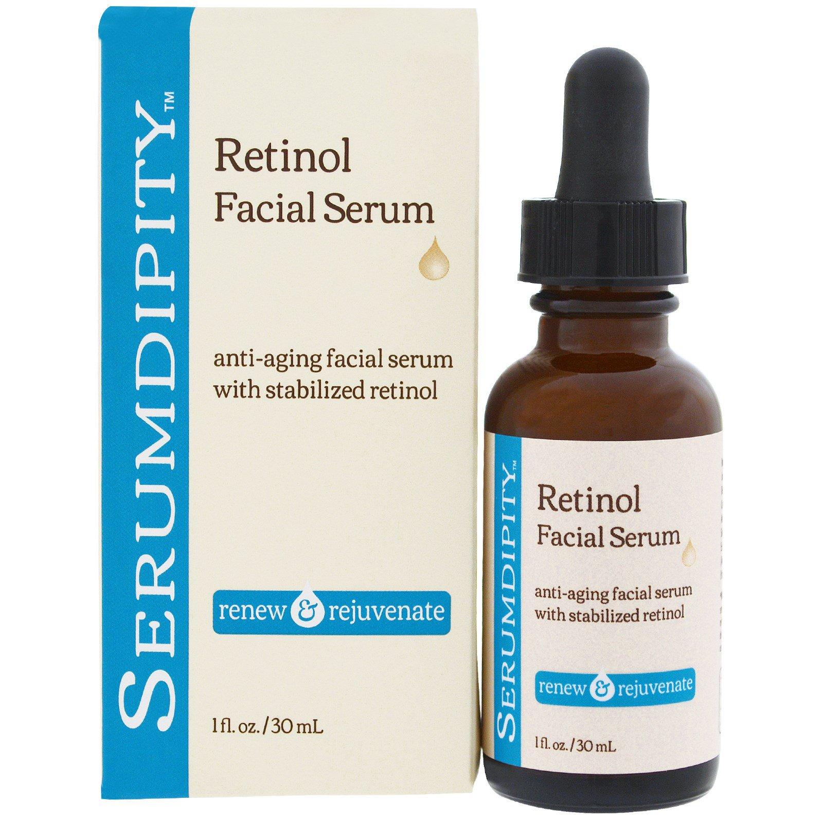 Madre Labs, Serumdipity, сыворотка для лица с ретинолом, омолаживающее средство для ухода за кожей, 1 жидкая унция (30 мл)
