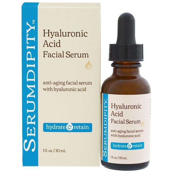 Madre Labs, Serumdipity, Hyaluronic Acid Facial Serum, Hydrating Skin Care, 1 fl. oz. (30 mL) (Discontinued Item)
