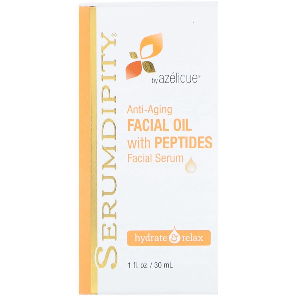 Madre Labs, Serumdipity, Anti-Aging Facial Oil with Peptides Facial Serum, 1 fl oz (30 ml)