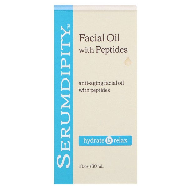 Madre Labs, Serumdipity, Aceite facial antienvejecimiento con péptidos, 30 ml (1 fl oz) (Discontinued Item)