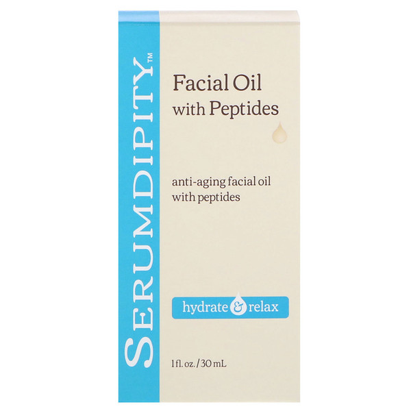 Madre Labs, Serumdipity, Anti-Aging Facial Oil with Peptides Facial Serum, 1 fl oz (30 ml) (Discontinued Item)