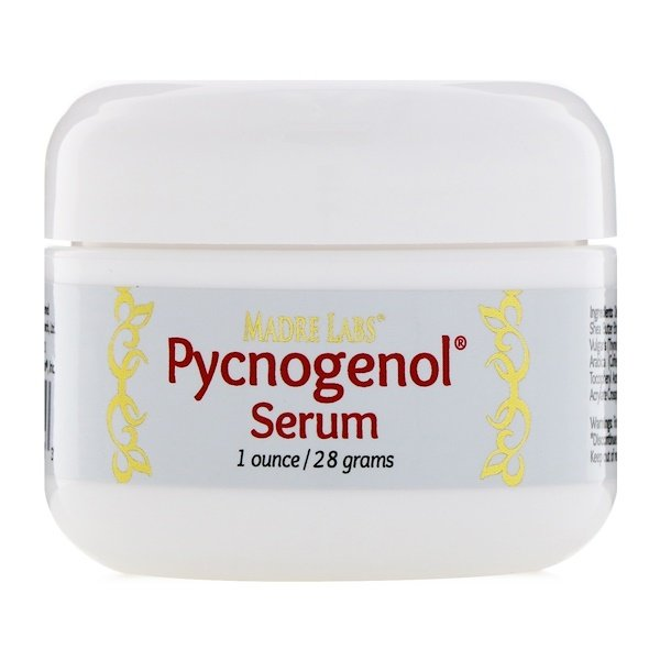Madre Labs, Pycnogenol Serum (Cream), Soothing and Anti-Aging, 1 oz. (28 g) (Discontinued Item)