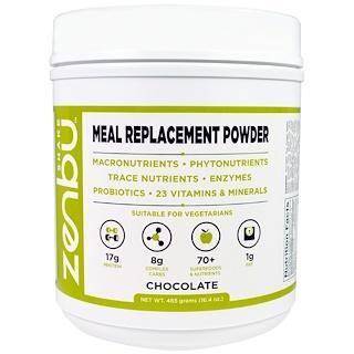 Madre Labs, Zenbu Shake、ミール・リプレースメントパウダー、プレバイオティクス、プロバイオティクス及び植物ベースのタンパク質を含有、チョコレートフレーバー、16.4オンス(465 g)