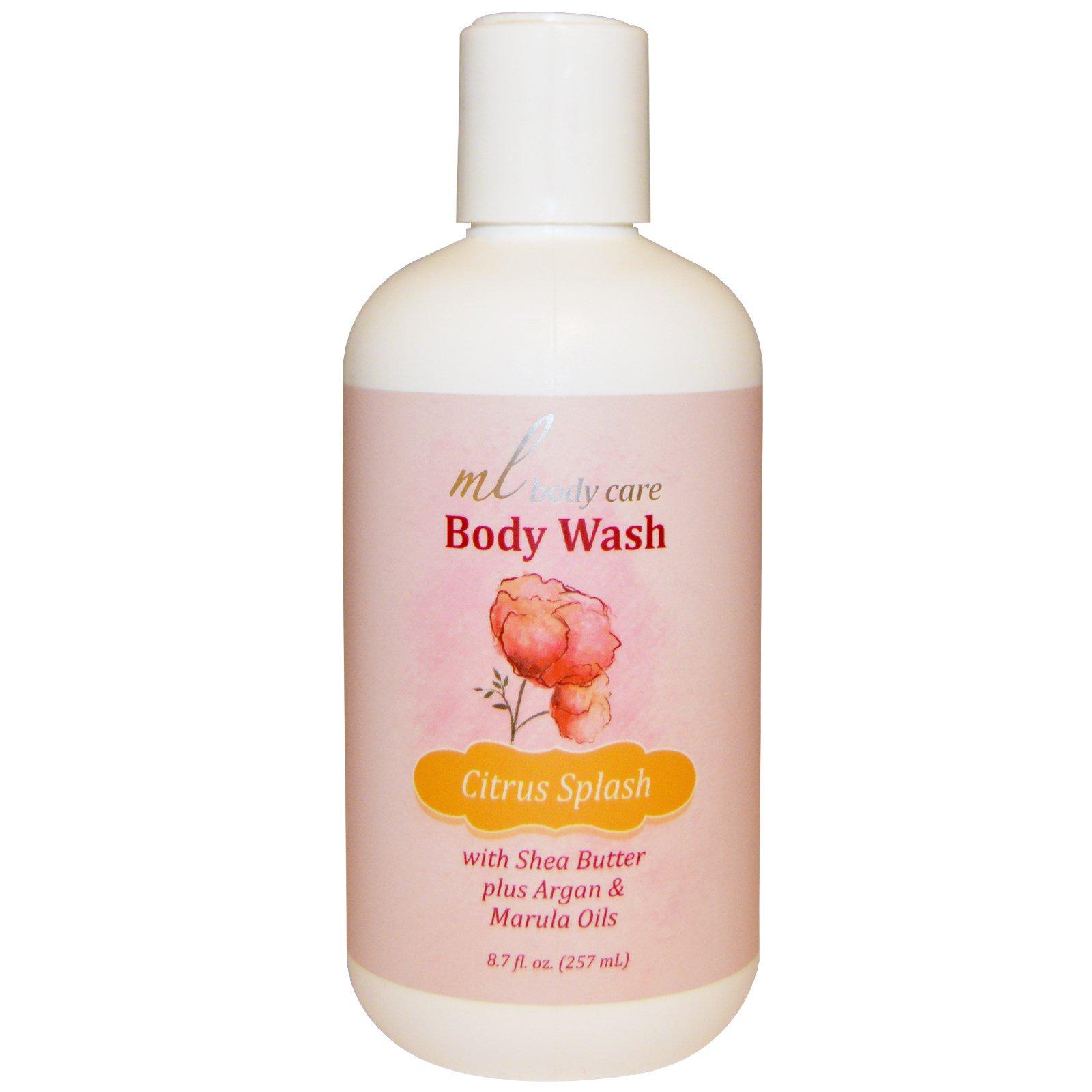 Madre Labs, Средство для мытья тела, Цитрусовый всплеск, очищает с помощью арганового и марулового масел + масло ши, 8,7 жидк. унц. (257 мл)