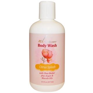 Madre Labs, Body Wash, Citrus Splash, Cleansing with Argan & Marula Oils + Shea Butter, 8.7 fl. oz. (257 mL)