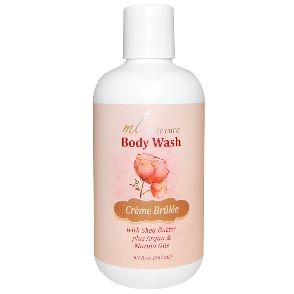 Madre Labs, Body Wash, Crème Brulee, Cleansing with Argan & Marula Oils + Shea Butter, 8.7 fl oz (257 ml) (Discontinued Item)