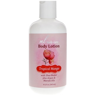 Madre Labs, Body Lotion, Tropical Mango, Moisturizing with Argan & Marula Oils + Shea Butter,  8.3 fl. oz. (245 mL)