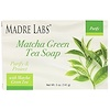 Madre Labs, Matcha Green Tea, Bar Soap, with Rosemary, Marula & Argan, 5 oz (141 g)