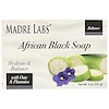 Madre Labs, African Black, Bar Soap, With Oats & Plantains, 5 oz (141 g)