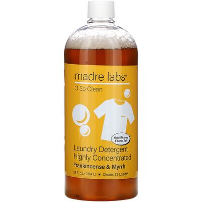 Купить Madre Labs высококонцентрированное средство для стирки, ладан и мирра, 0, 94л (32жидк. унции)