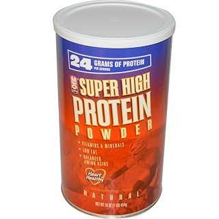 MLO Natural, Super High Protein Powder, 16 oz (454 g)