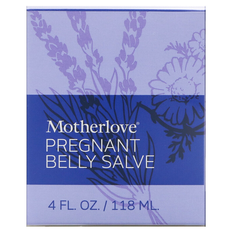 Pregnant Belly Salve, 4 oz (118 ml)