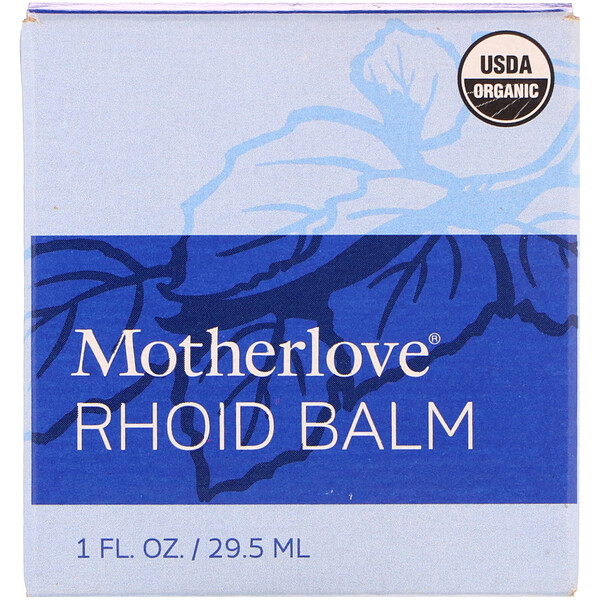 Motherlove, Rhoid Balm, 1 fl. oz (29.5 ml)
