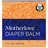 Motherlove, おむつ用バーム、1 oz (29.5 ml)