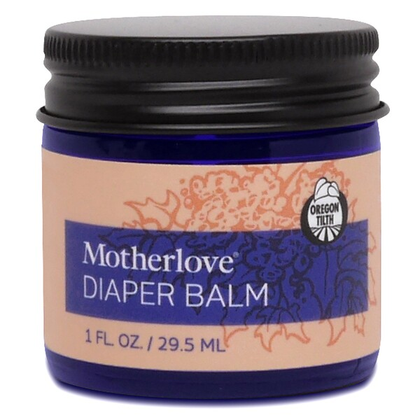 Motherlove, Bálsamo antipañalitis, 1 oz (29.5 ml)