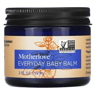 Motherlove, 日常嬰兒潤膚膏,2 液量盎司(59 毫升)