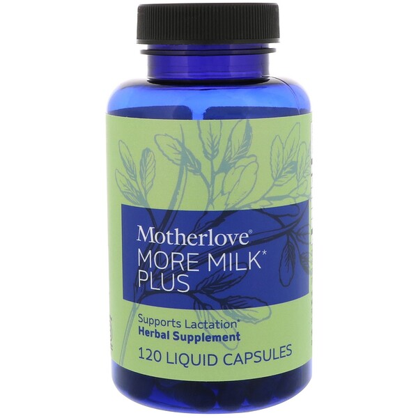 Motherlove, More Milk Plus, 120 Liquid Capsules