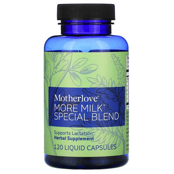More Milk Special Blend, 120 Liquid Capsules