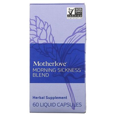 Купить Motherlove Morning Sickness Blend, 60 Liquid Capsules