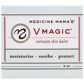Medicine Mama's, Vmagic、インティメイトスキンバーム、2 oz