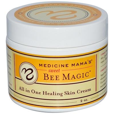 Купить Сладкое пчелиное волшебство, заживляющий крем для кожи, все в одном, 2 унции
