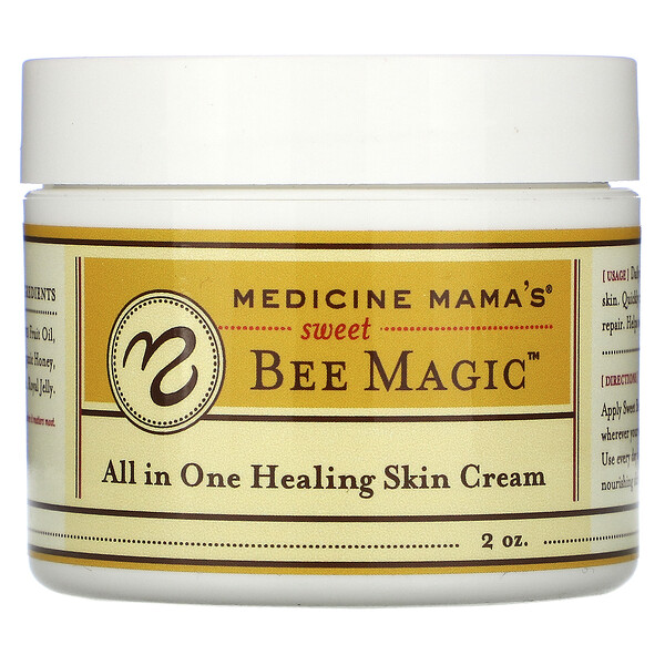 Sweet Bee Magic, All In One Healing Skin Cream, 2 oz
