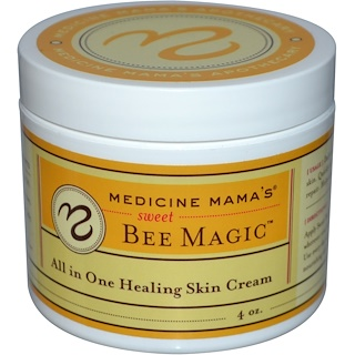 Medicine Mama's, Sweet Bee Magic, All In One Healing Skin Cream, 4 oz