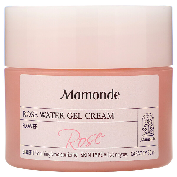 Rose Water Gel Cream, 80 ml