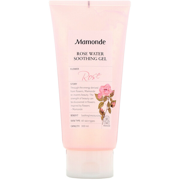 Rose Water Soothing Gel, 300 ml