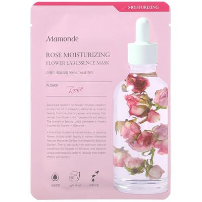 Купить Mamonde Flower Lab Essence Mask, увлажняющая маска с эссенцией розы, 1шт., 25мл