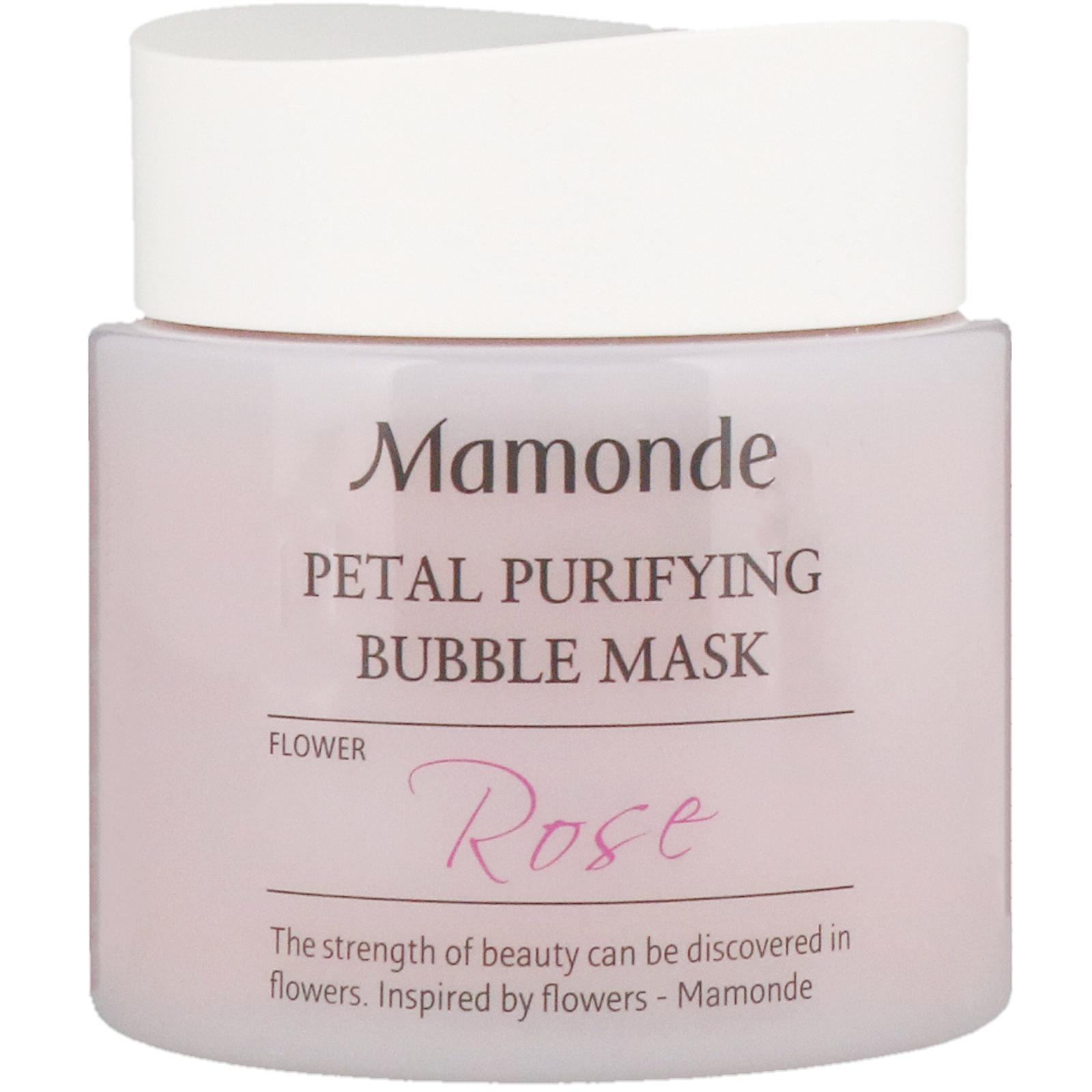 Petal Purifying Bubble Mask by Mamonde #3