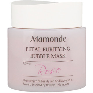 Mamonde, Petal Purifying Bubble Mask, Rose, 100 ml