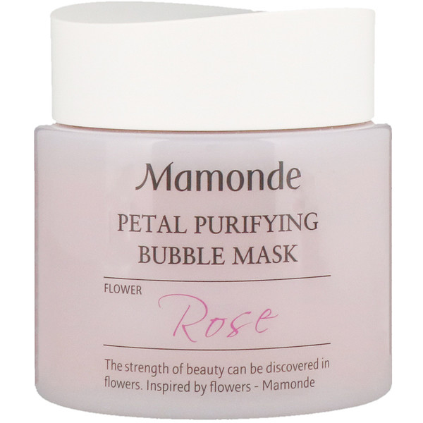 Mamonde, Petal Purifying Bubble Mask, Rose, 100 ml (Discontinued Item)