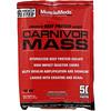 Carnivor Mass, Anabolic Beef Protein Gainer, Chocolate Fudge, 3.42 oz (97 g)