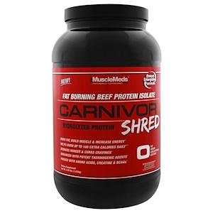МаслМэдс, Carnivor Shred, Chocolate, 2.28 lbs (1,036 g) отзывы