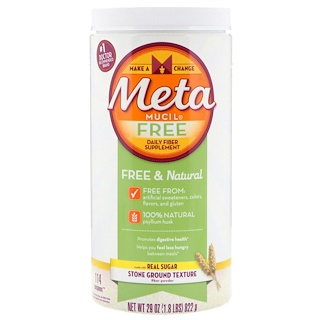 Metamucil, Libre, suplemento de fibra diario, 29 oz (822 g)