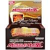 MuscleMaxx, 高プロテイン エナジースナック、 プロテインバー、 ピーナッツバターホワイトチョコレートヘブン、 12バー、 2 oz (57 g)