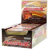 Отзывы о MuscleMaxx, Protein Snackbar, Chocolate Peanut Butter, 12 Bars, 2 oz (57 g) Each
