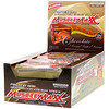 MuscleMaxx, High-Protein Energy Snack, Protein Bar, Chocolate Peanut Butter, 12 Bars, 2 oz (57 g) Each