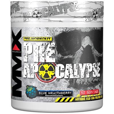 Фото - Pre Apocalypse, Pre-Workout, Blue Wraithberry, 11.28 oz (320 g) wreckage pre workout кислый леденец 375 г 13 23 унции
