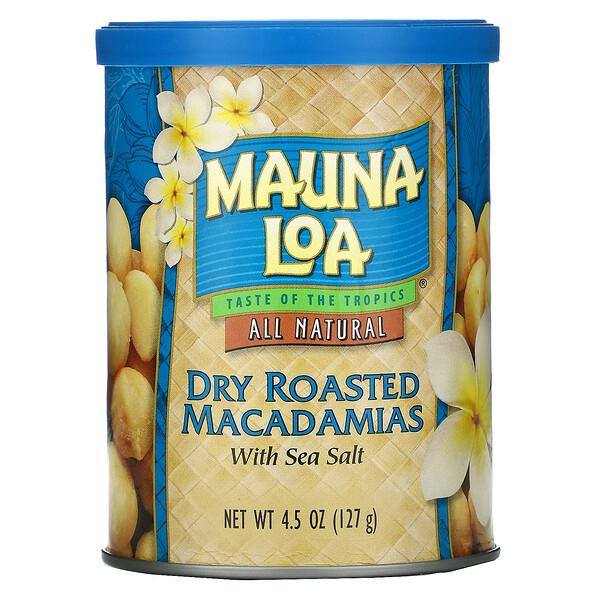 Dry Roasted Macadamias with Sea Salt, 4.5 oz (127 g)