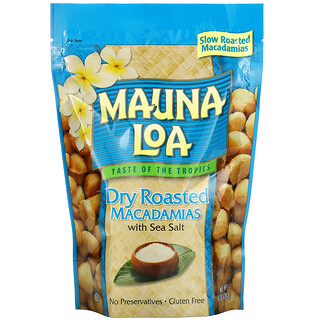 Mauna Loa, Dry Roasted Macadamias with Sea Salt, 10 oz (283 g)
