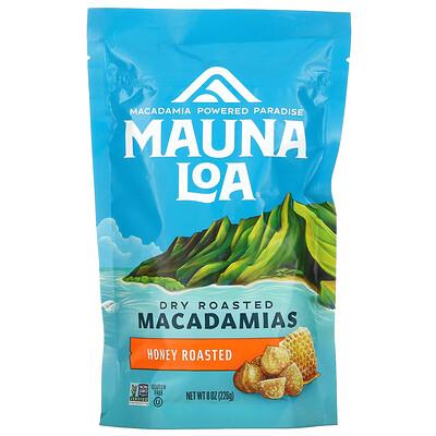 Mauna Loa Dry Roasted Macadamias, Honey Roasted, 8 oz (226 g)